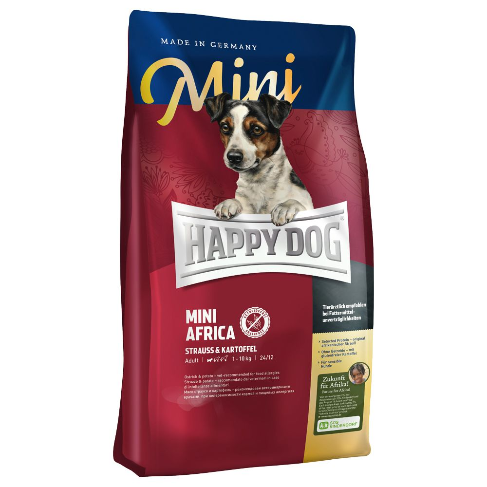 Happy Dog Supreme Mini Afryka - 2 x 4 kg