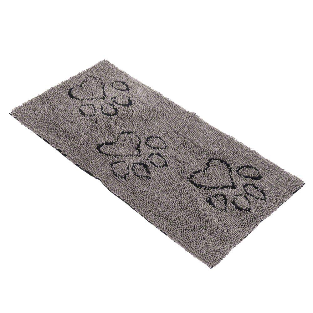 Dirty Dog Doormat Runner - Grey - 120 x 60 x 2.5 cm (L x W x H)