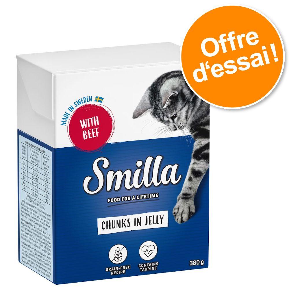 6x370g Bouchées en sauce Smilla - Nourriture pour Chat