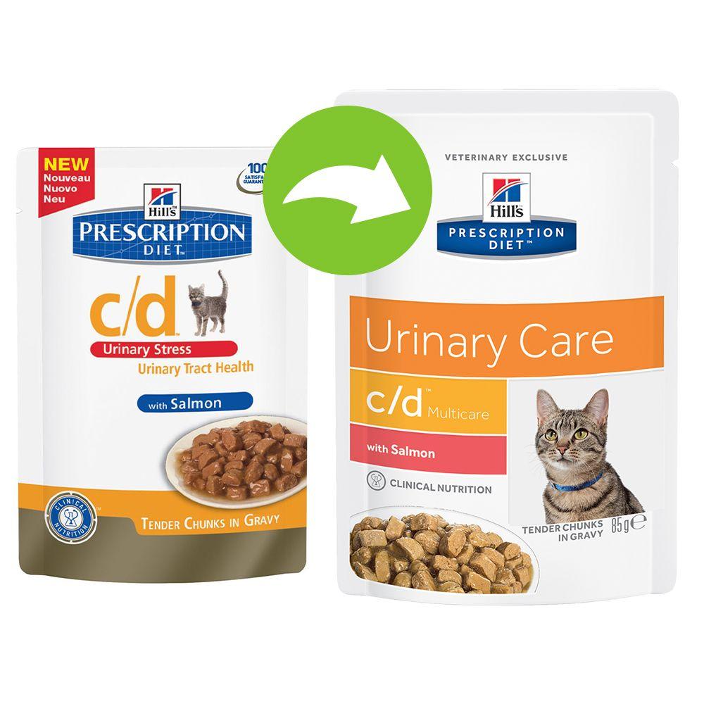 Hill´s Prescription Diet Feline c/d Multicare Salmon – 24 x 85 g