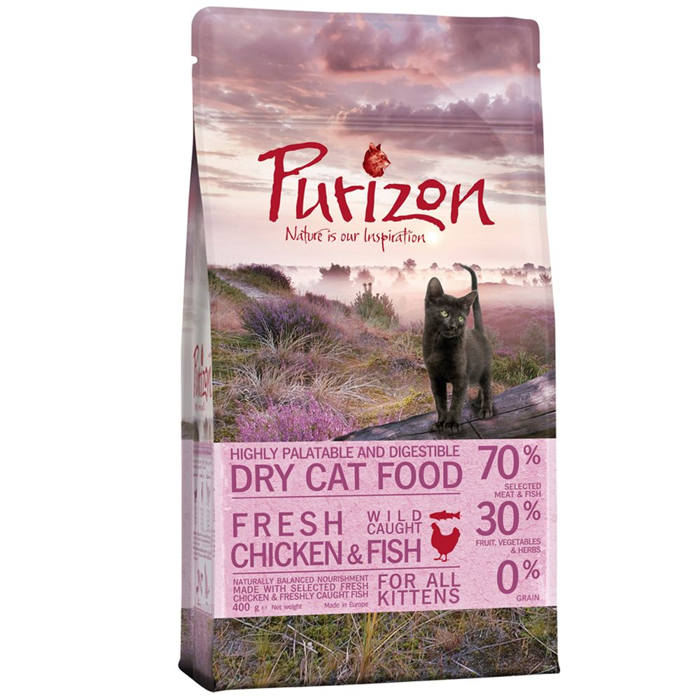 Purizon Kitten Chicken & Fish - 2,5 kg