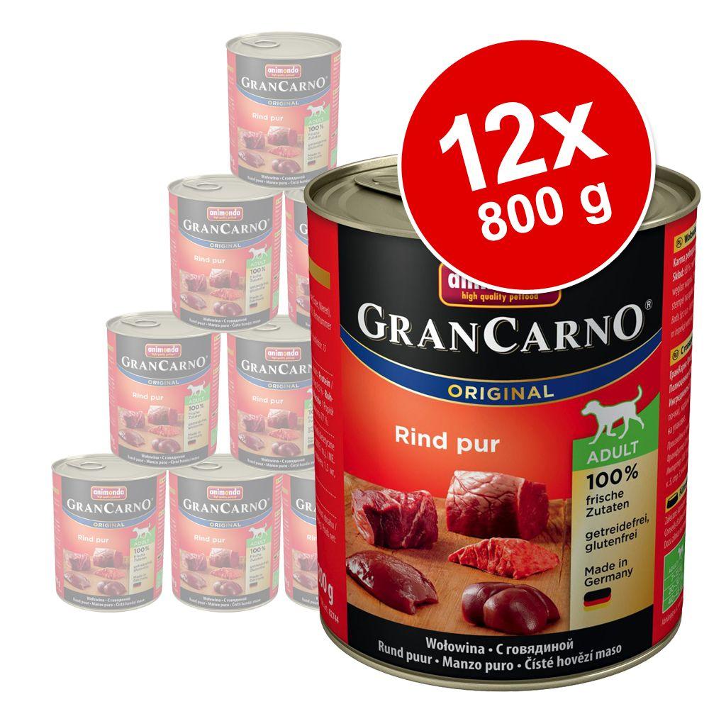 Sparpaket Animonda GranCarno Original 12 x 800 ...
