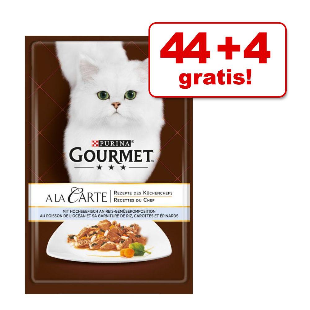 44 + 4 gratis! Gourmet A