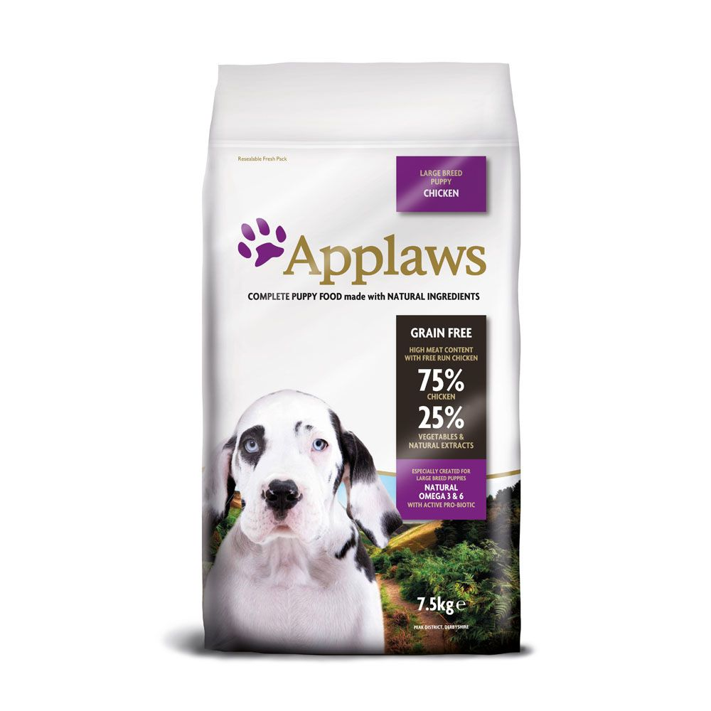 Applaws Puppy Large Breed - Chicken - Economy Pack: 2 x 15kg