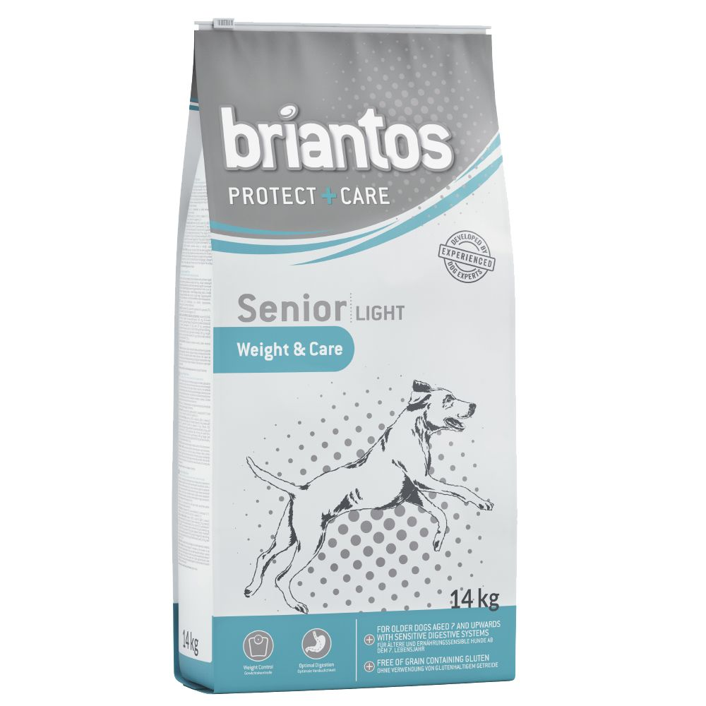 14kg Briantos Protect + Care Dry Dog Food - £5 Off!* - Adult Fit & Care (14kg)