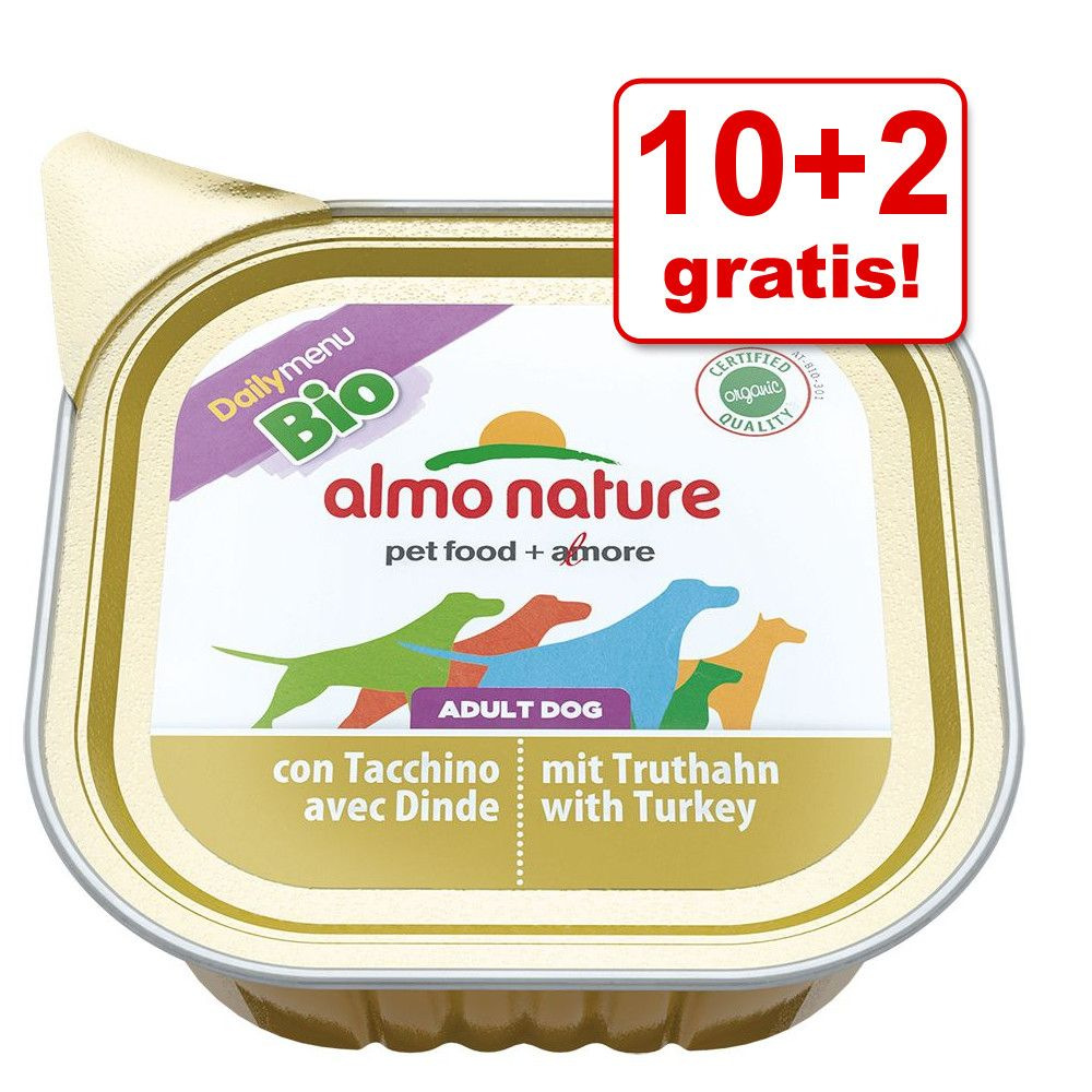 10 + 2 gratis! Almo Natur