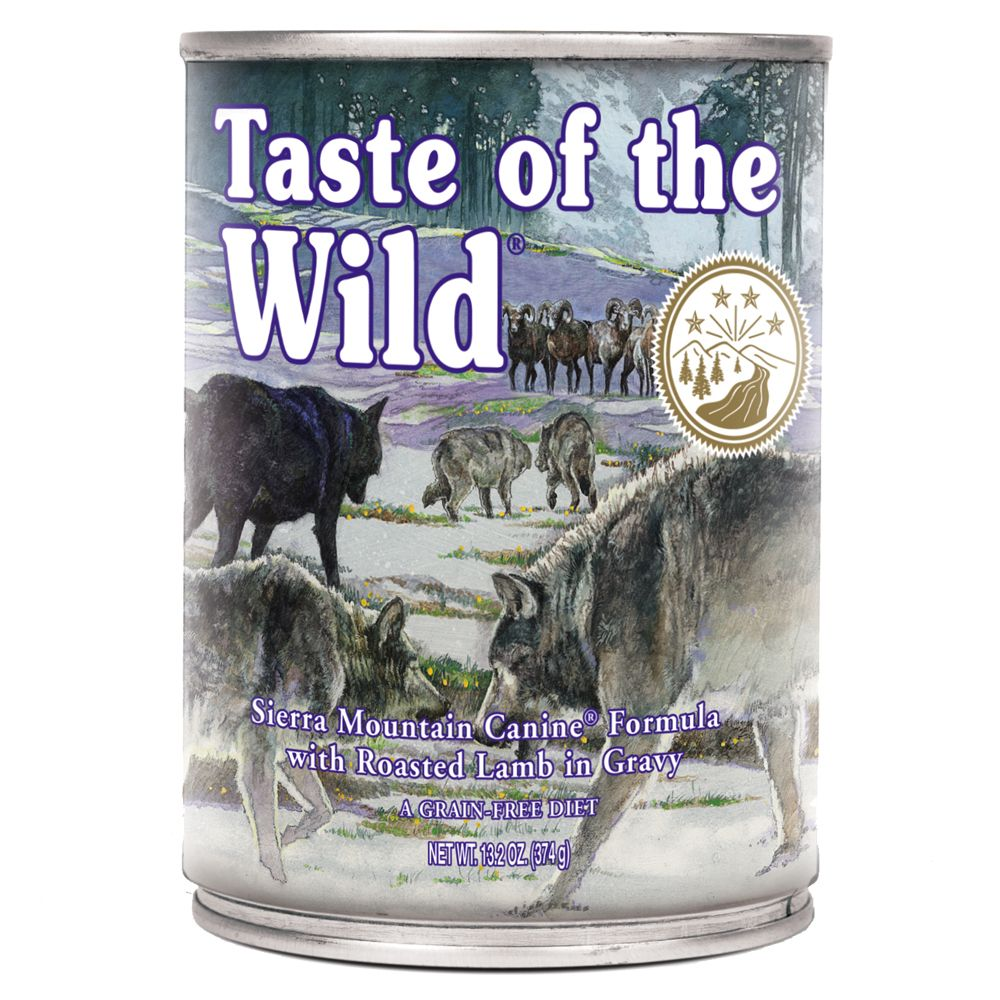 Taste of the Wild - Sierra Mountain Canine - Saver Pack: 12 x 374g