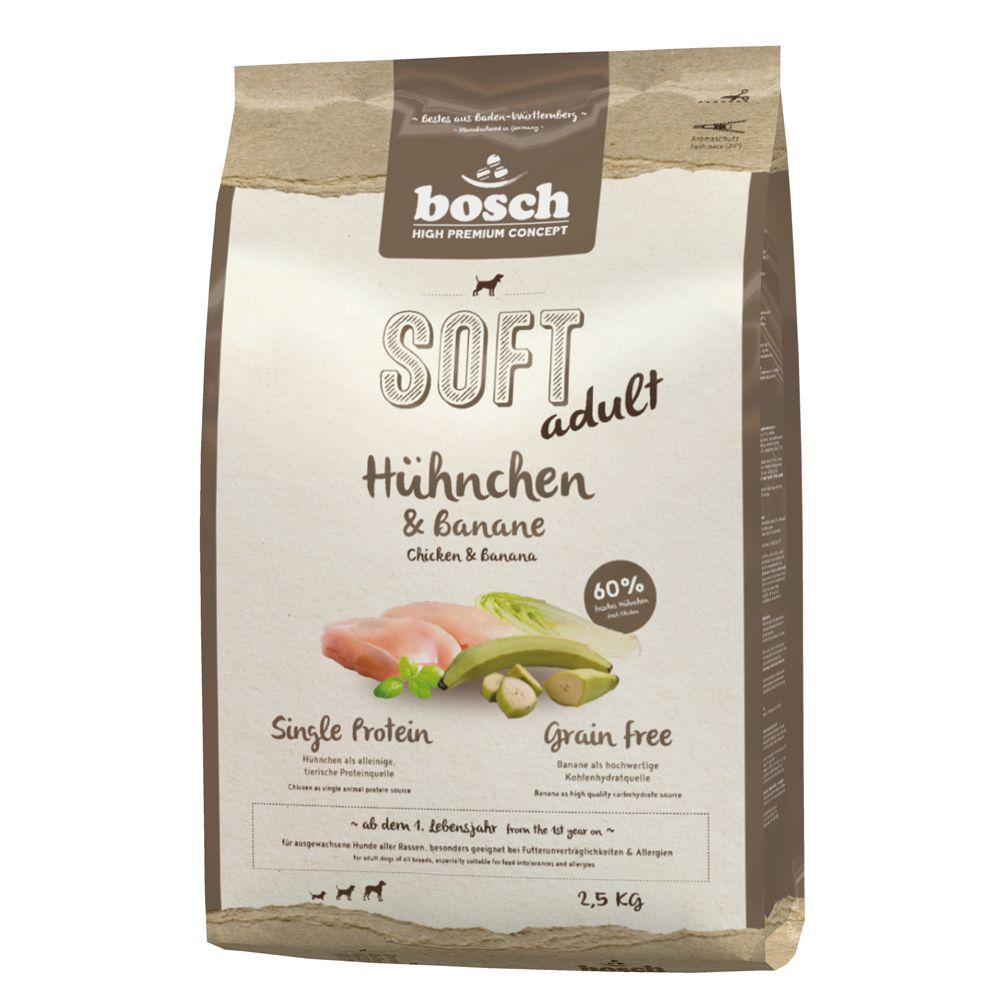 Bosch Soft con pollo y plátano - 12,5 kg