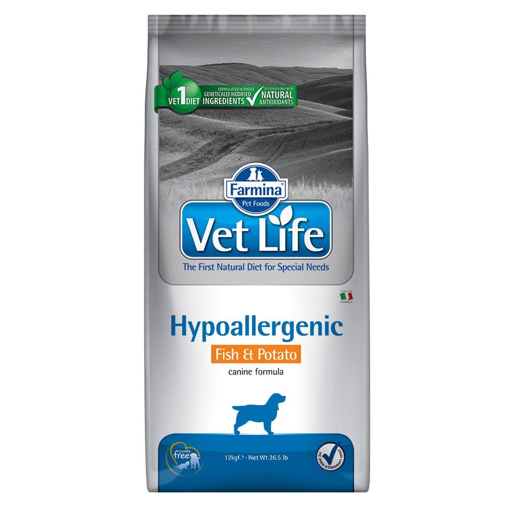 Foto Farmina Vet Life Hypoallergenic Canine Formula Pesce&Patate - 12 kg Vet Life Dog