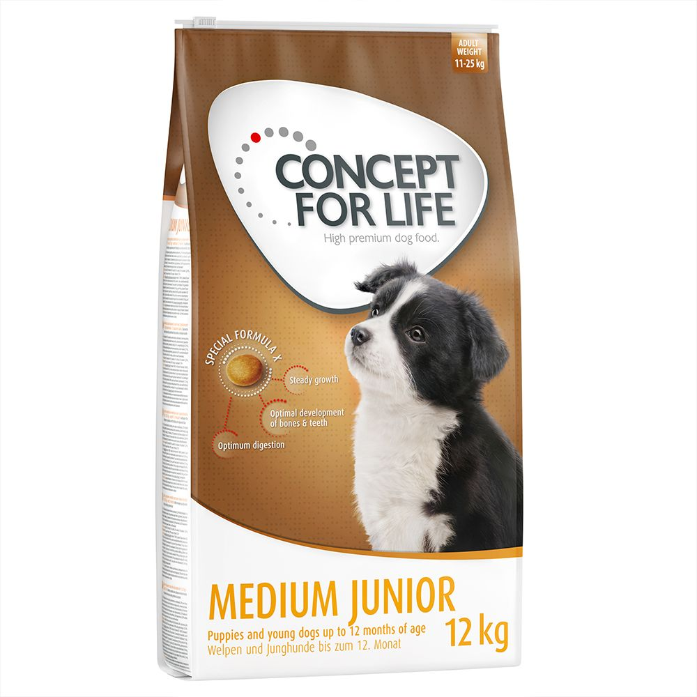 Concept for Life Medium Junior - Sparpaket 2 x 12 kg
