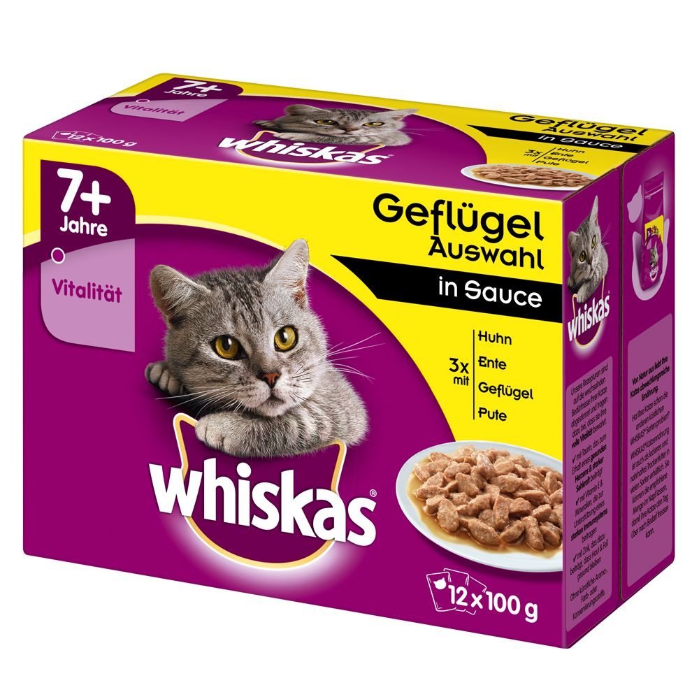 Whiskas Senior 7+ saszetk