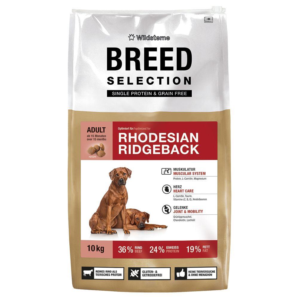 Wildsterne Breed Selection Rhodesian Ridgeback – Ekonomipack: 2 x 10 kg