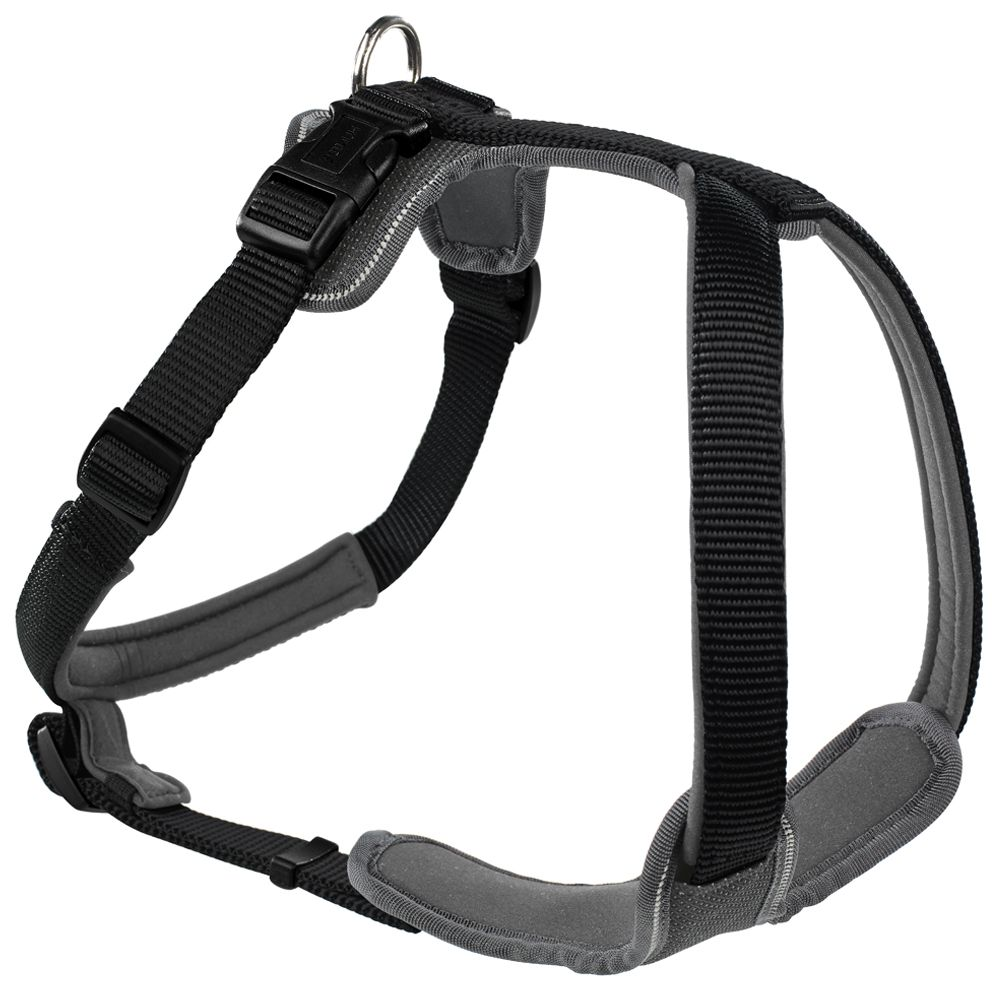 Hunter Neoprene Harness - Black / Grey
