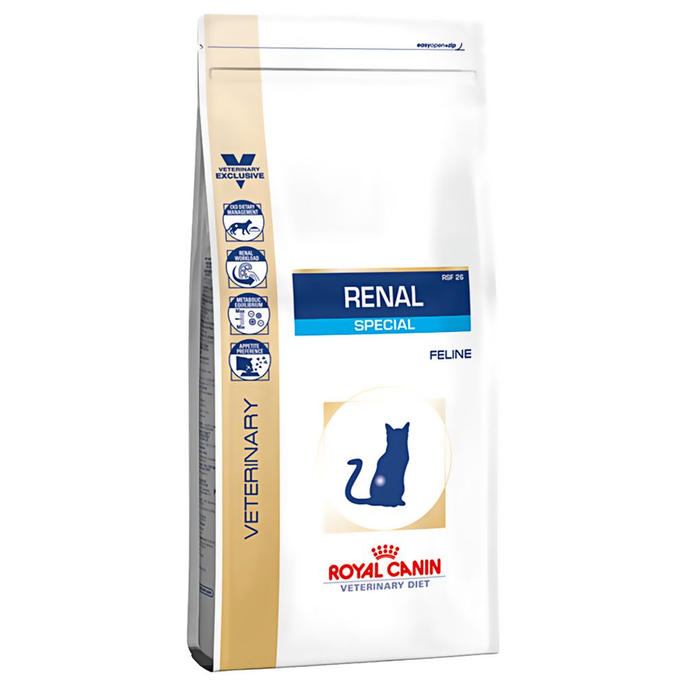 Foto Royal Canin Renal Special RSF 26 Veterinary Diet - 4 kg Royal Canin Veterinary Diet Problemi renali