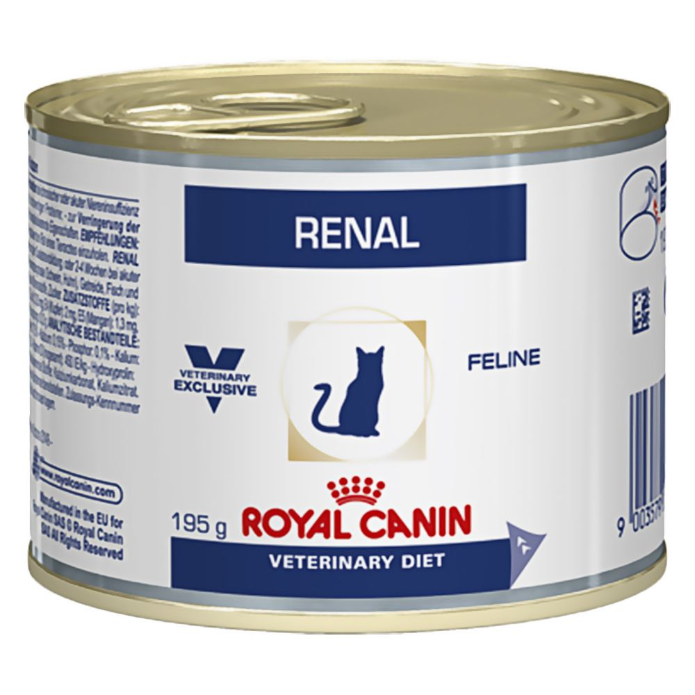 12x195g Renal Chicken Royal Canin Veterinary Diet Wet Cat Food