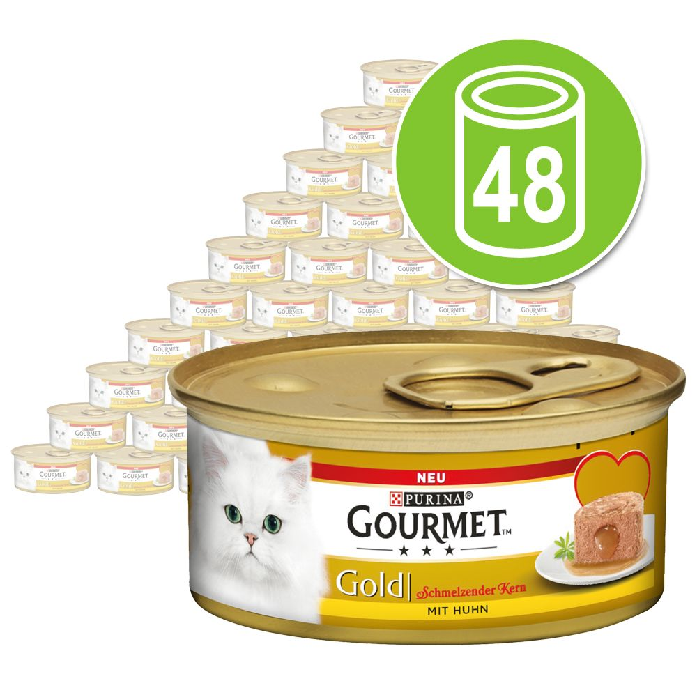 Ekonomipack: Gourmet Gold Melting Heart 48 x 85 g - Lax