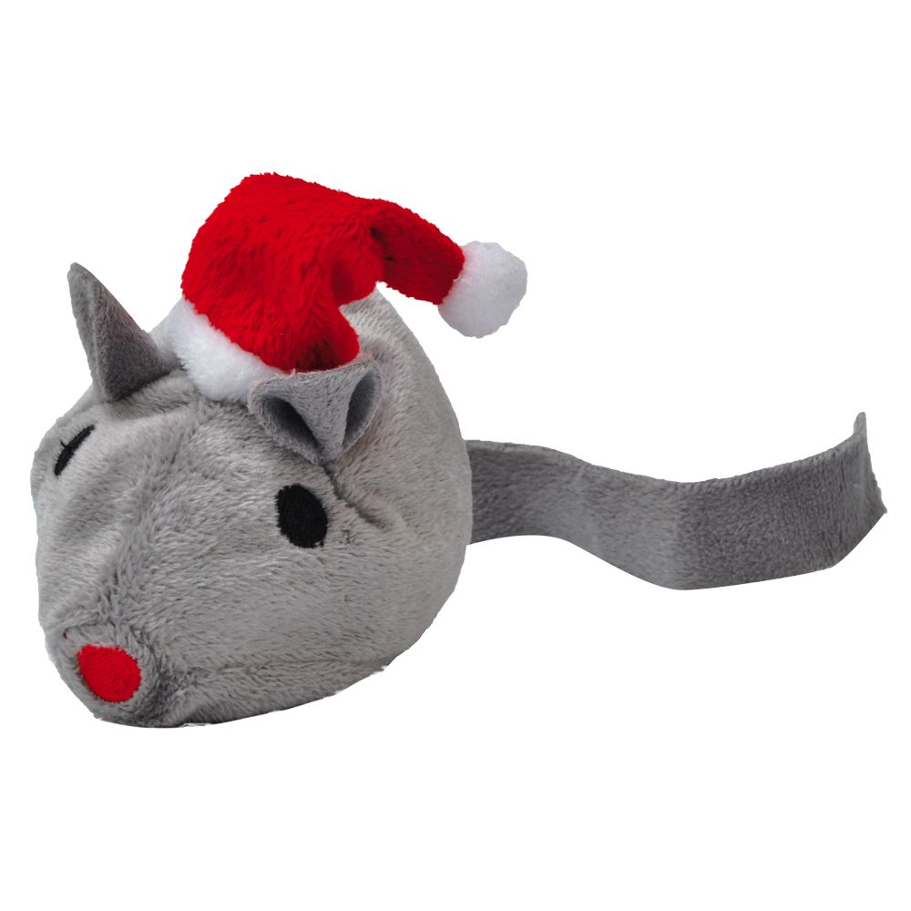 Aumuller Santa Mouse Cat Toy