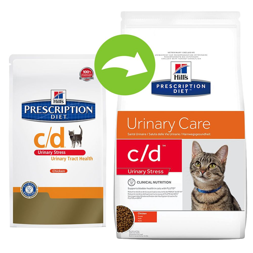 Hill's Prescription Diet Feline - c/d Urinary Stress - Economy Pack: 2 x 8kg