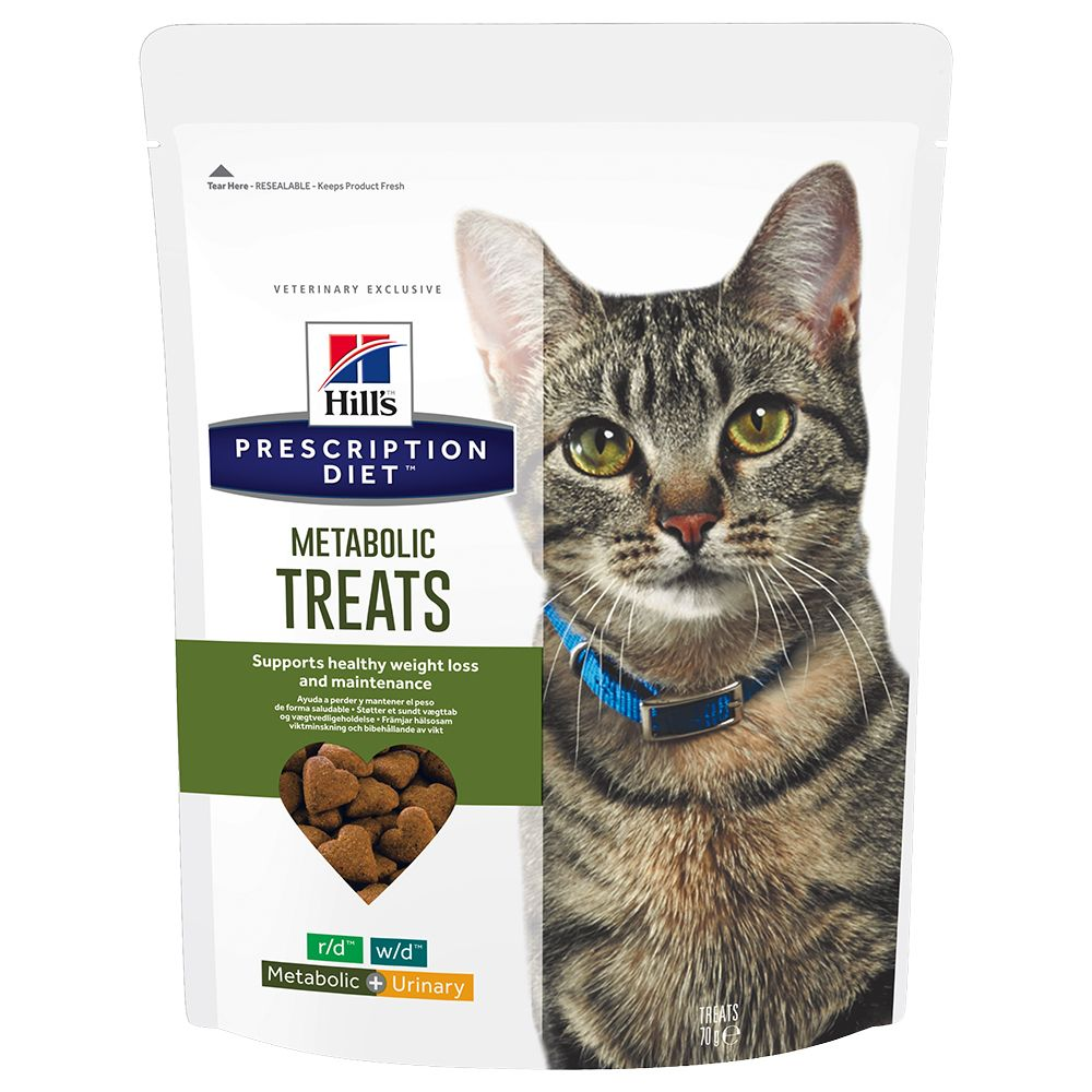 Hill's Prescription Diet Feline Treats - Metabolic - Saver Pack: 3 x 70g