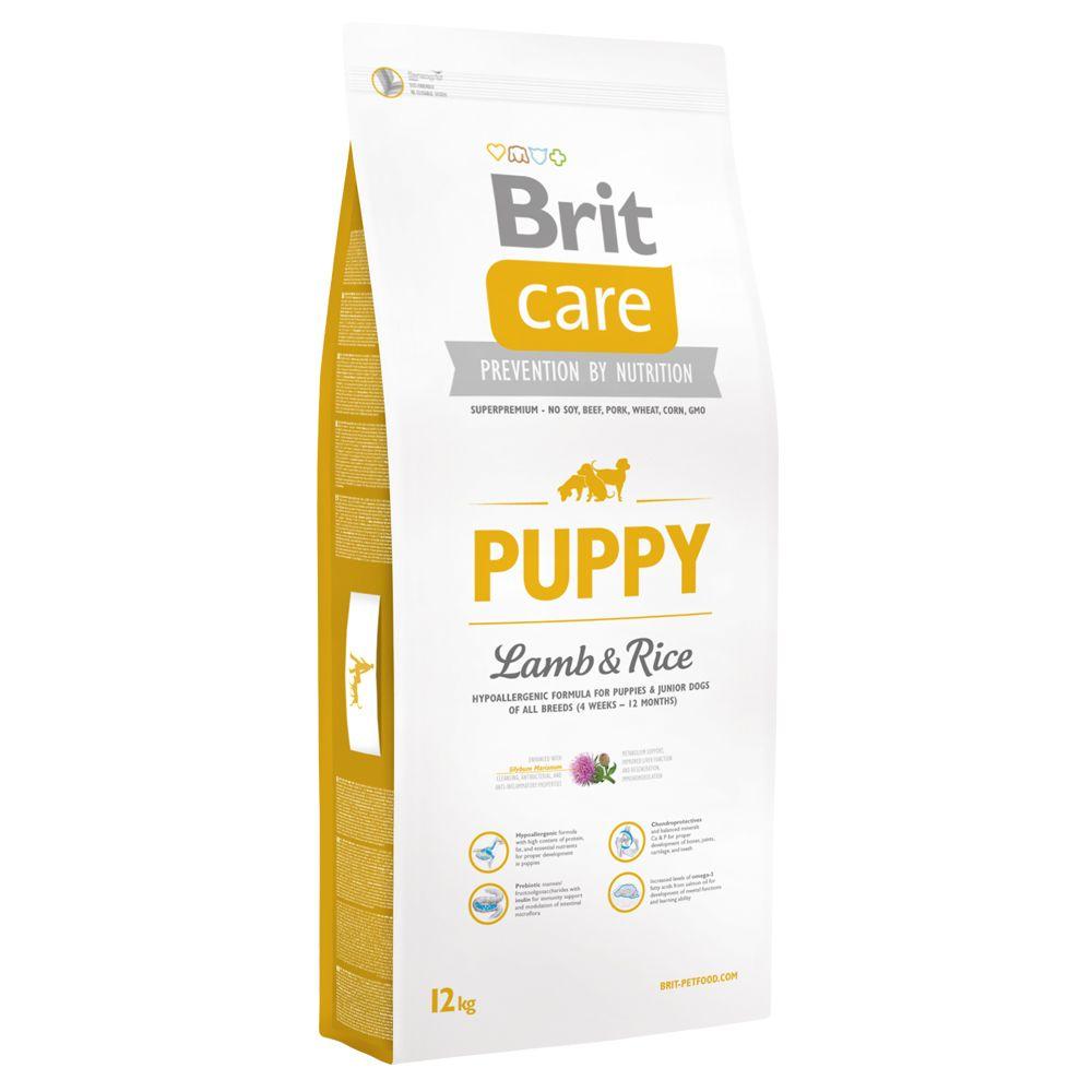 12kg Puppy All Breed agneau riz Brit Care - Croquettes pour Chien