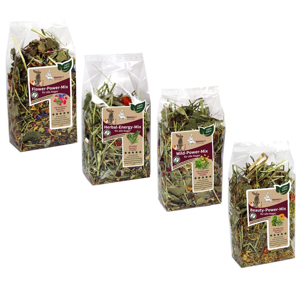 Hansepet Flower Mix 4 packs 400g