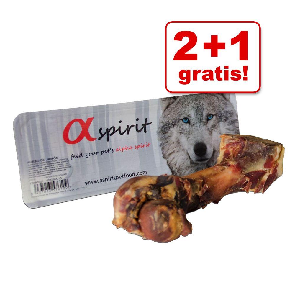 2 + 1 gratis! 3 x Alpha Spirit Schinkenknochen ...