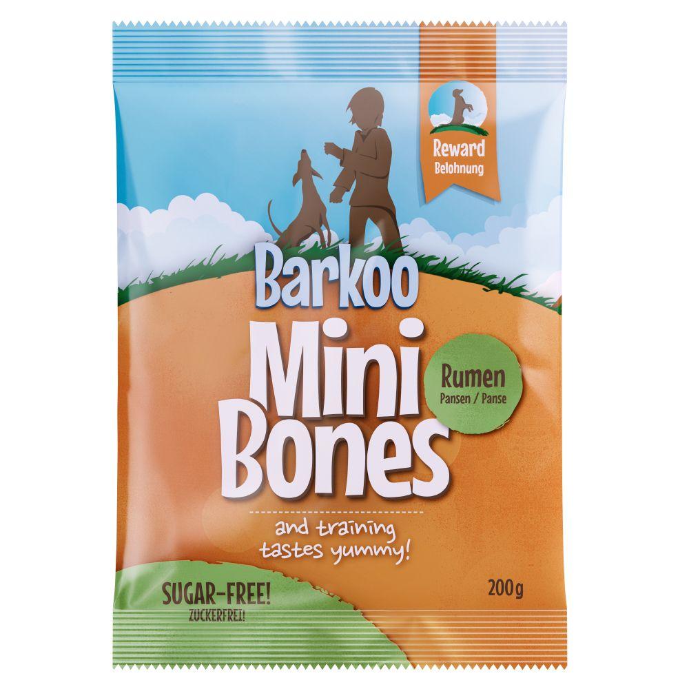 3 x 200g Barkoo Mini Bones