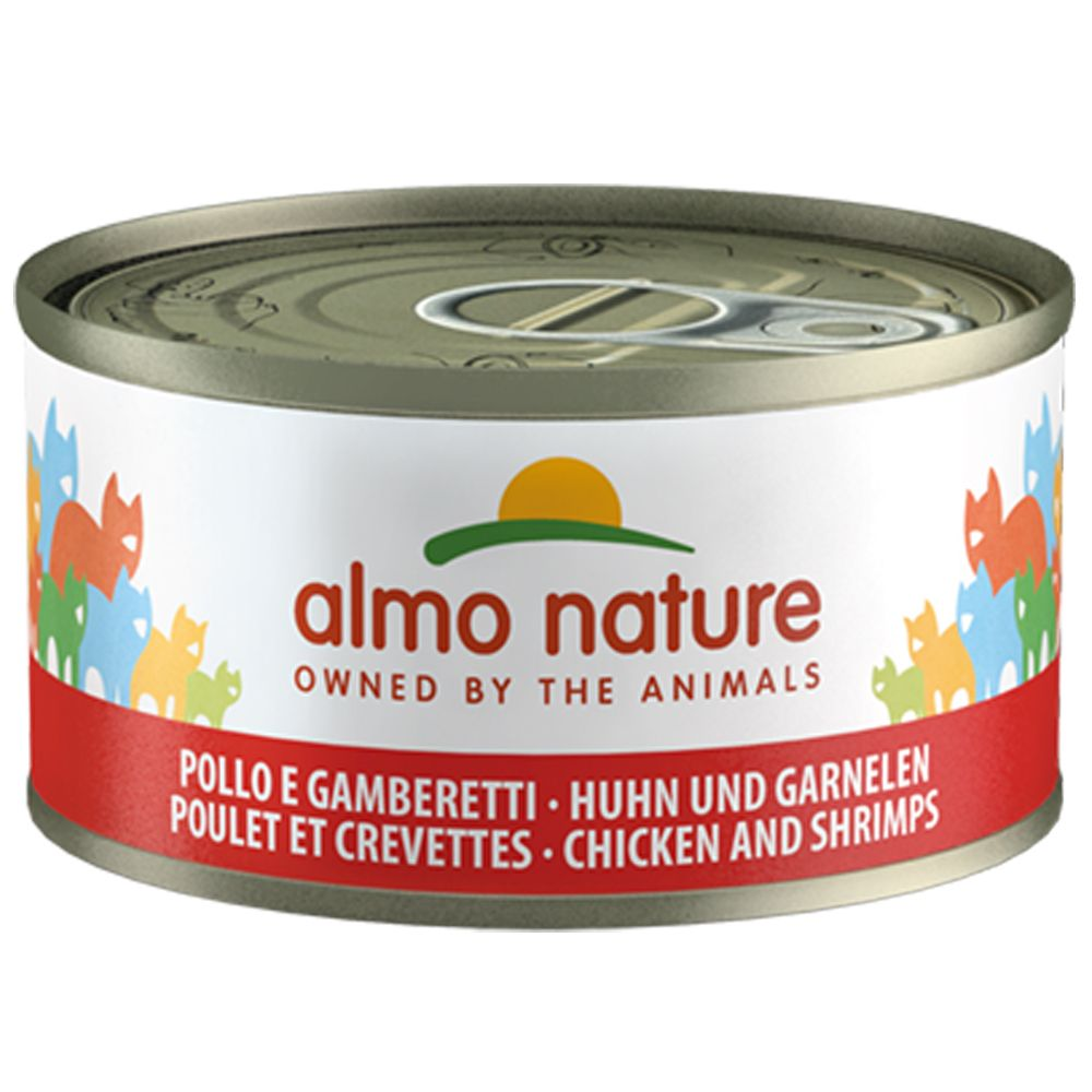 Tuna & Shrimp Saver Pack Almo Nature Legend Wet Cat Food