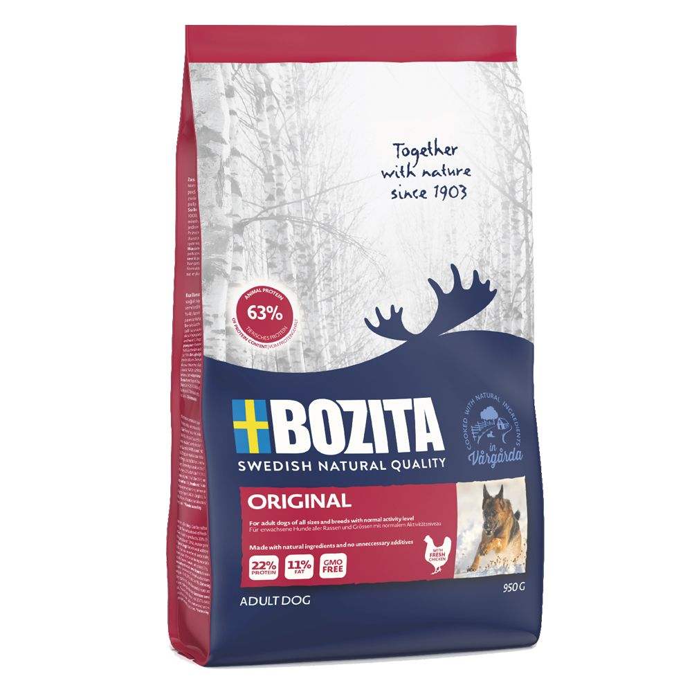 2x12kg Original Bozita Dry Dog Food