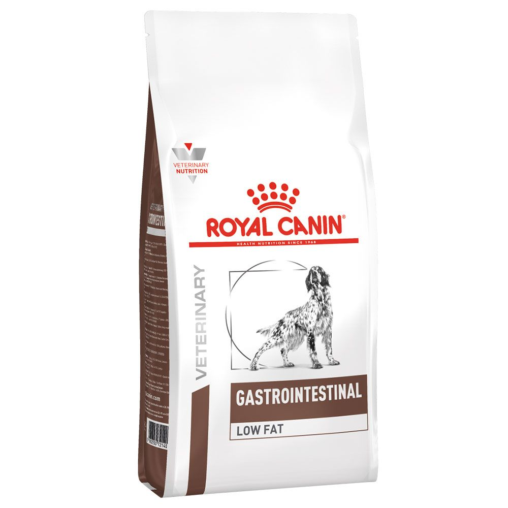 2x12kg Gastro Intestinal Low Fat Royal Canin Veterinary Dry Dog Food
