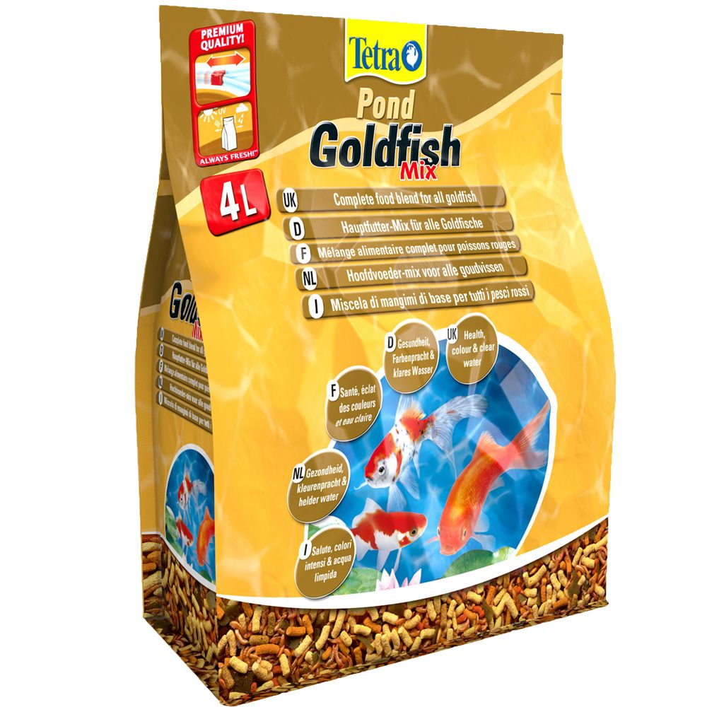 Tetra Pond Goldfish Mix - 4 L