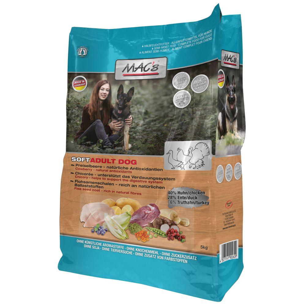 MAC's Soft Grain Free Kyckling, anka & kalkon - Ekonomipack: 6 x 5 kg