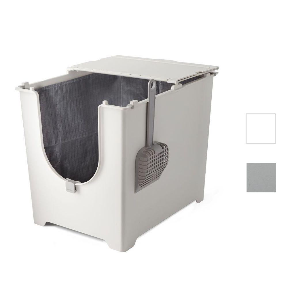 Modkat Katzentoilette Flip - weiß