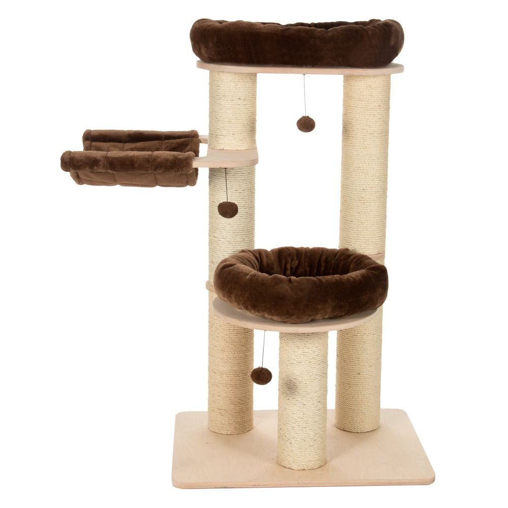 Natural Paradise Cat Tree – M - Cream