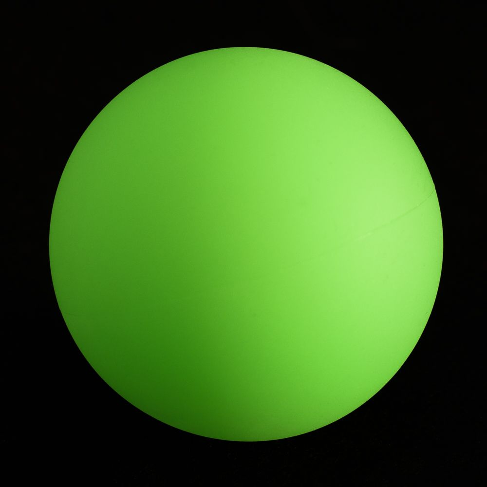 Fluorescent Ball Dog Toy - 1 Ball