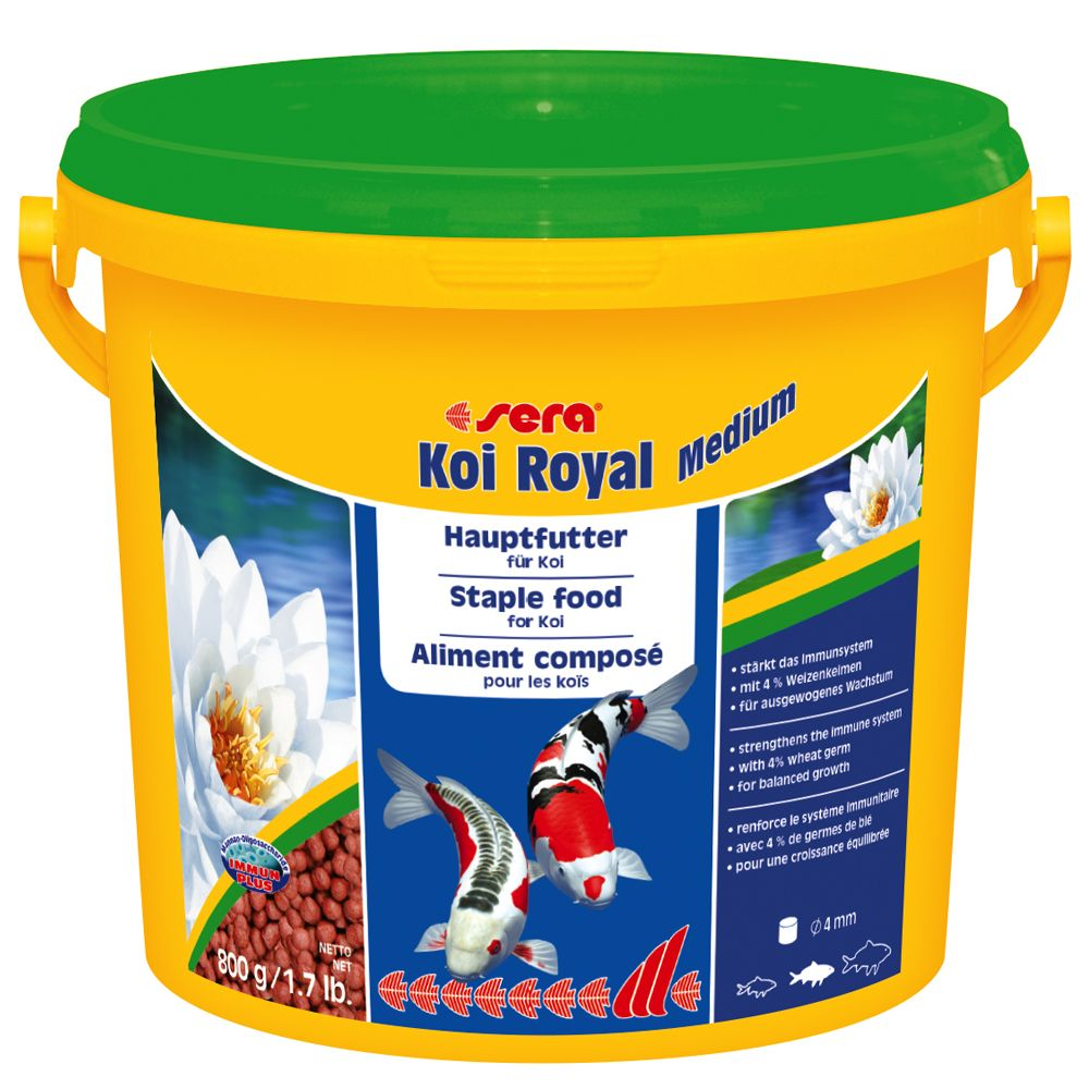 Sera Koi Royal Medium Granules