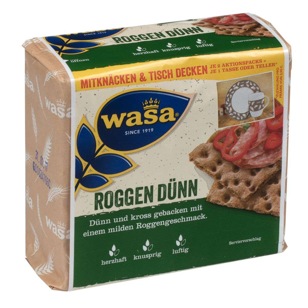 Image of Wasa Roggen Dünn - 205 g