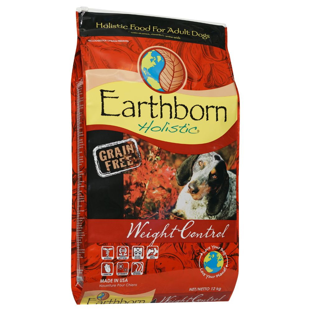 Earthborn Holistic Weight Control Dry Dog Food - 12kg