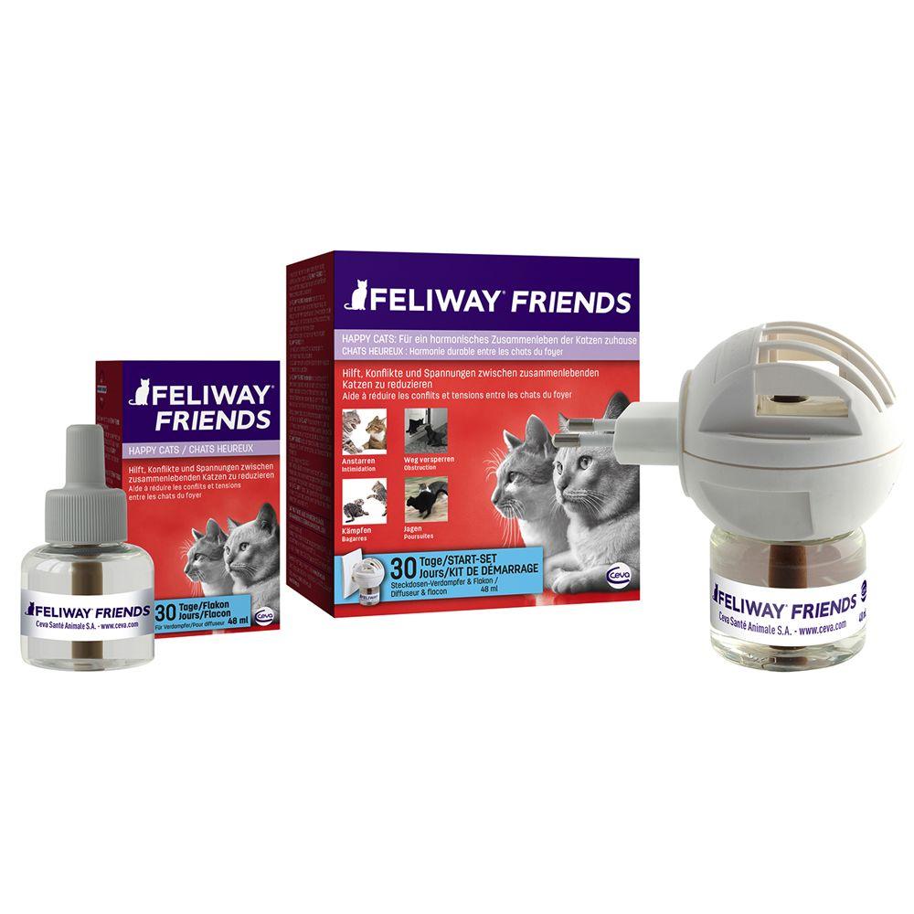 Feliway Friends dyfuzor z feromonem C.A.P. - 2 flakoniki 48 ml (bez dyfuzora)