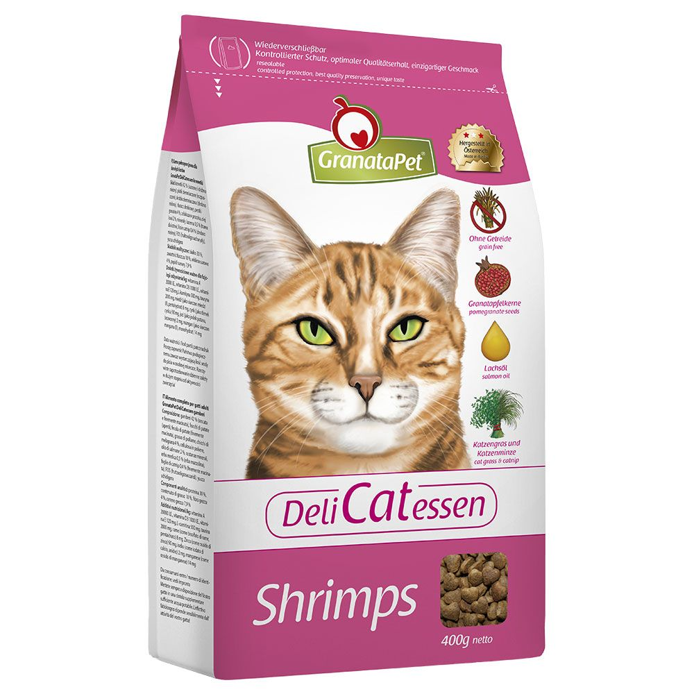 GranataPet DeliCatessen Adult Shrimps Dry Cat Food - 2kg