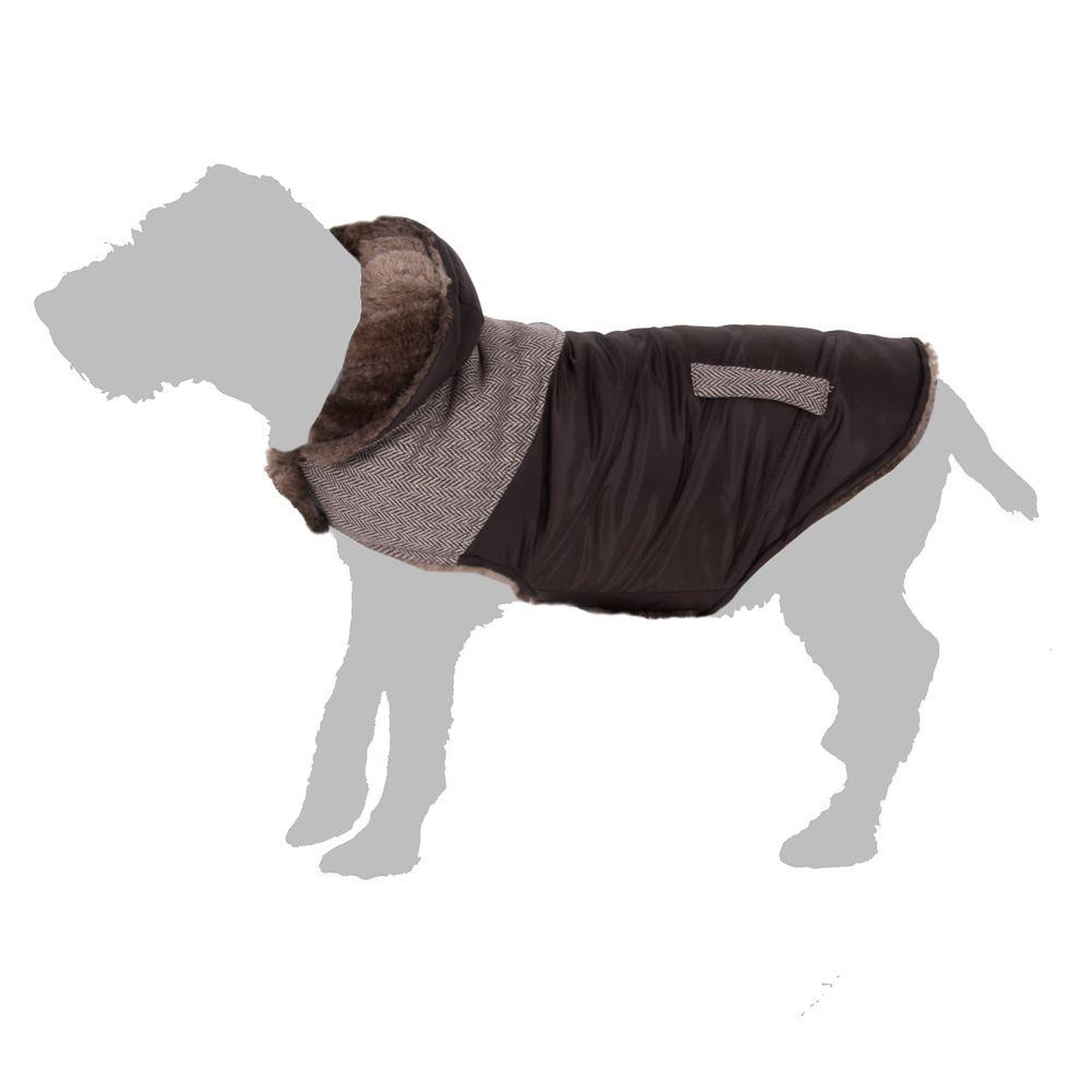 Tweed hundjacka – ca 40 cm (stl. XL)