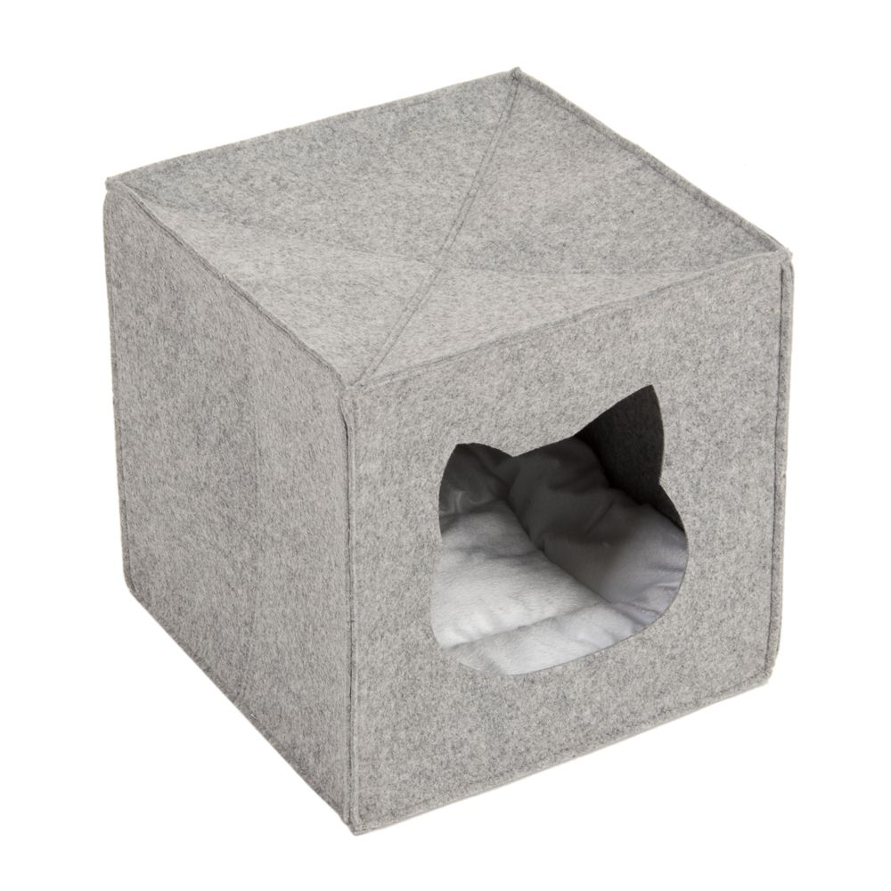 Felt Cat Den for Shelves 33x33x33cm