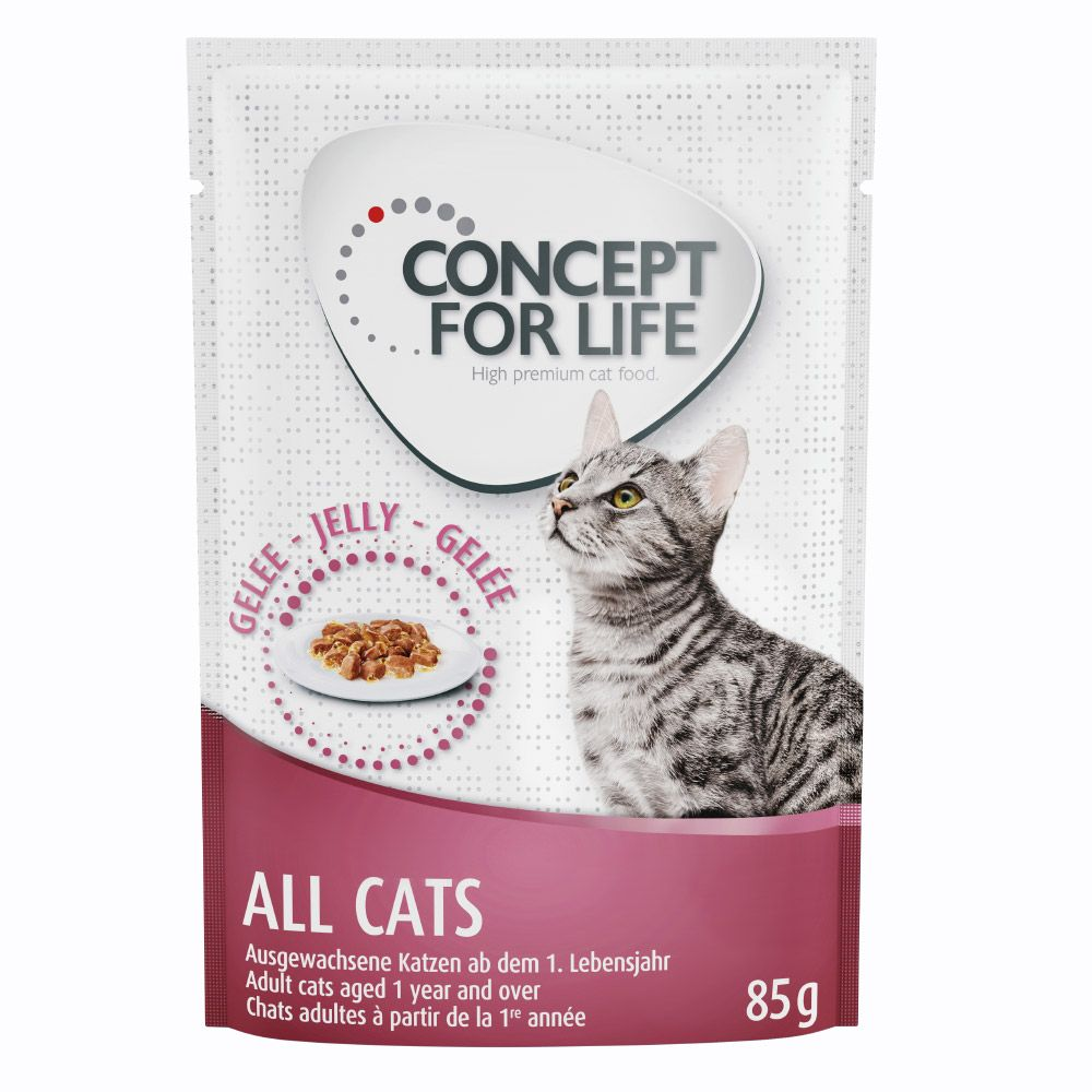 Concept for Life All Cats w galarecie - 24 x 85 g