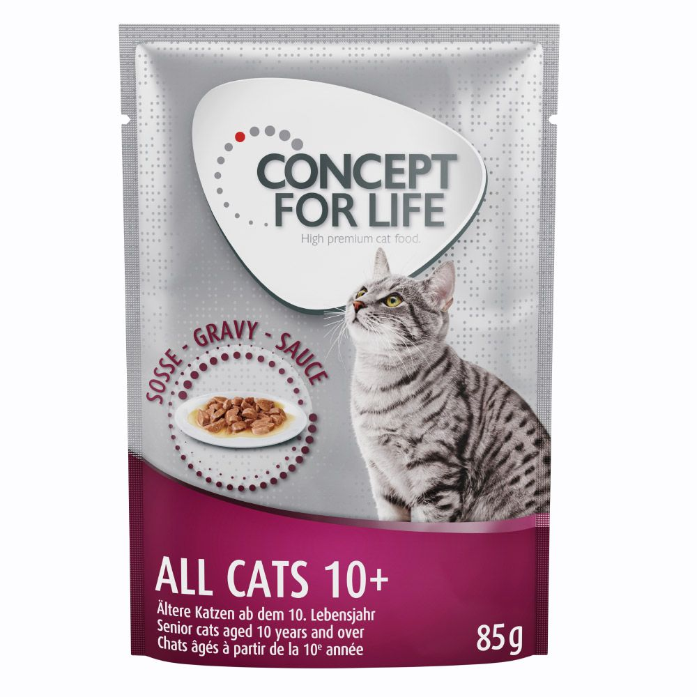 Concept for Life All Cats 10+ w sosie - 12 x 85 g