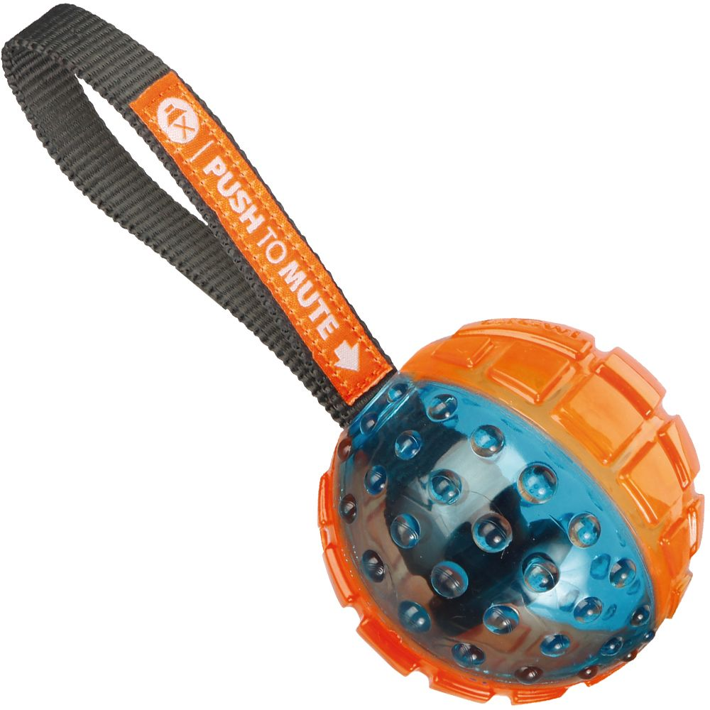 GiGwi Push to mute ball on string – 1 kpl ø 7 x P 22 cm