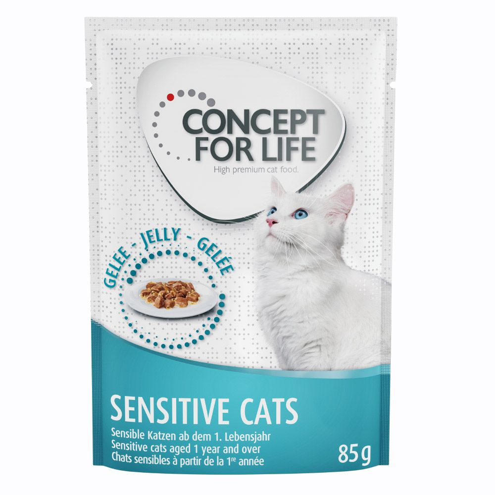 Concept for Life Sensitive Cats in Jelly