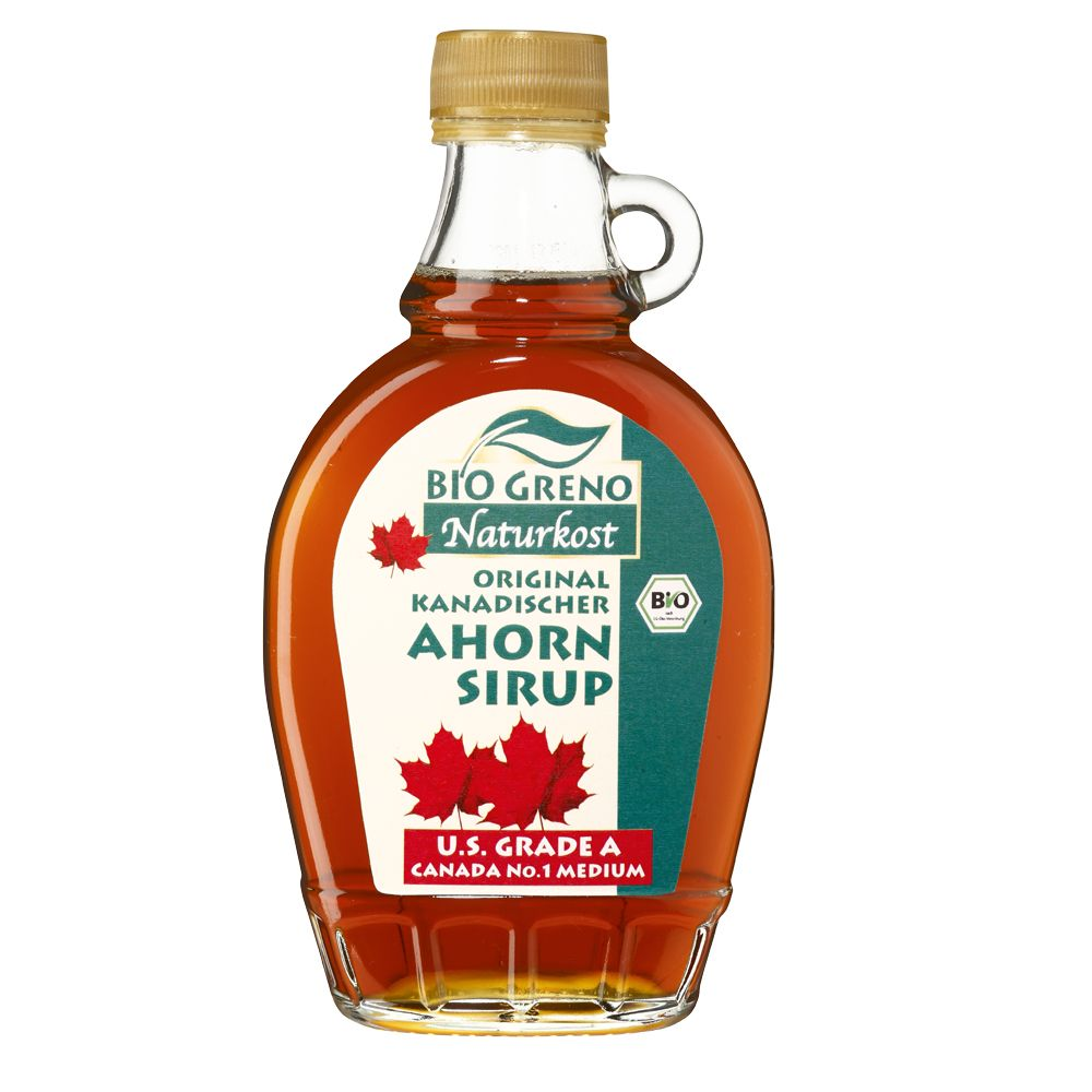 Image of Bio Greno Naturkost Kanadischer Bio-Ahornsirup - 250 ml
