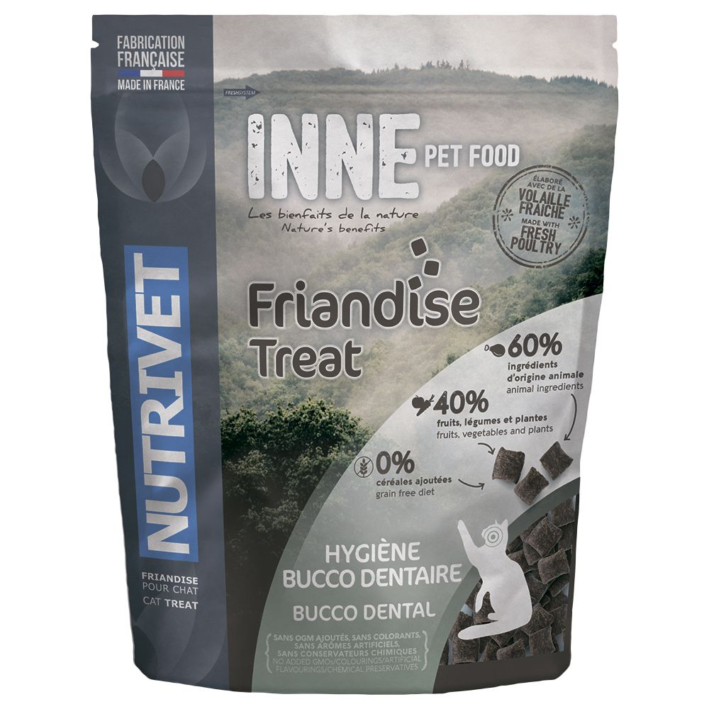 Nutrivet Inne Bucco Dental Cat Treats - 250g