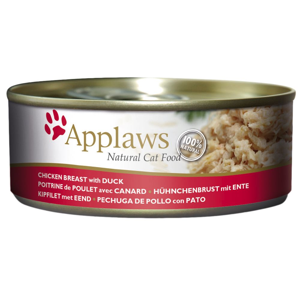 Chicken with Duck Applaws Wet Cat Food
