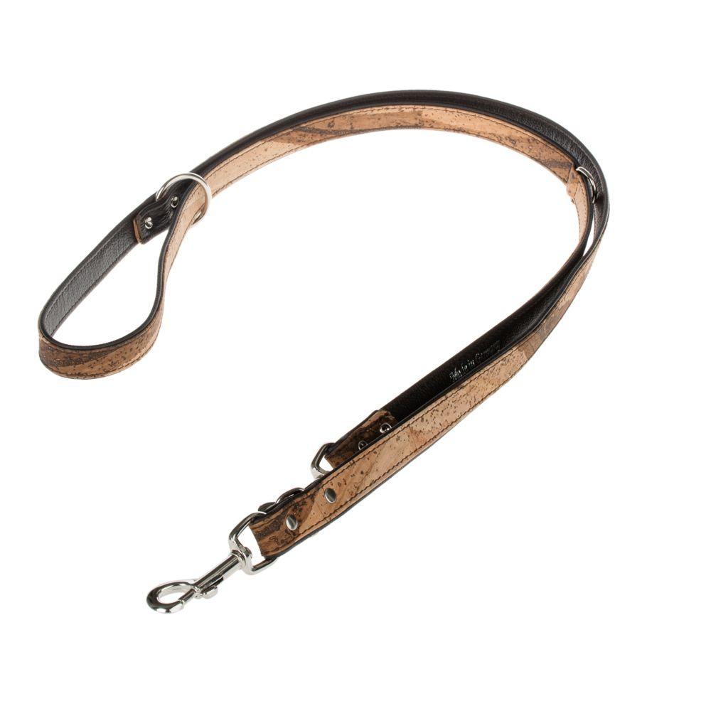 Heim Cork & Leather Tiger Dog Lead